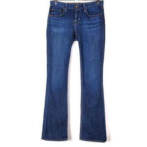 Big Star Hazel Mid Rise Boot Cut Jeans SZ 26 L